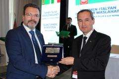 Foto 4 - Dr. Caputo e Mammetmyrat GELDINYYAZOV - Ministro dell'Educazione del Turkmenistan
