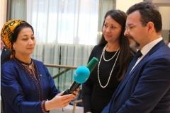 Foto 9 - Intervista al Direttore del Comitato Scientifico IDA da parte della TV di Stato